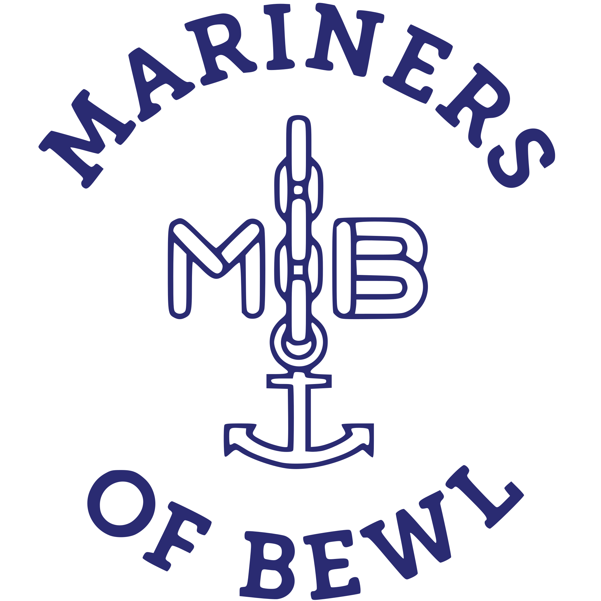 Mariners of Bewl (dinghy sailing) logo