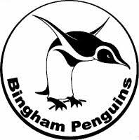 Bingham Penguins Logo Picture of a Penguin