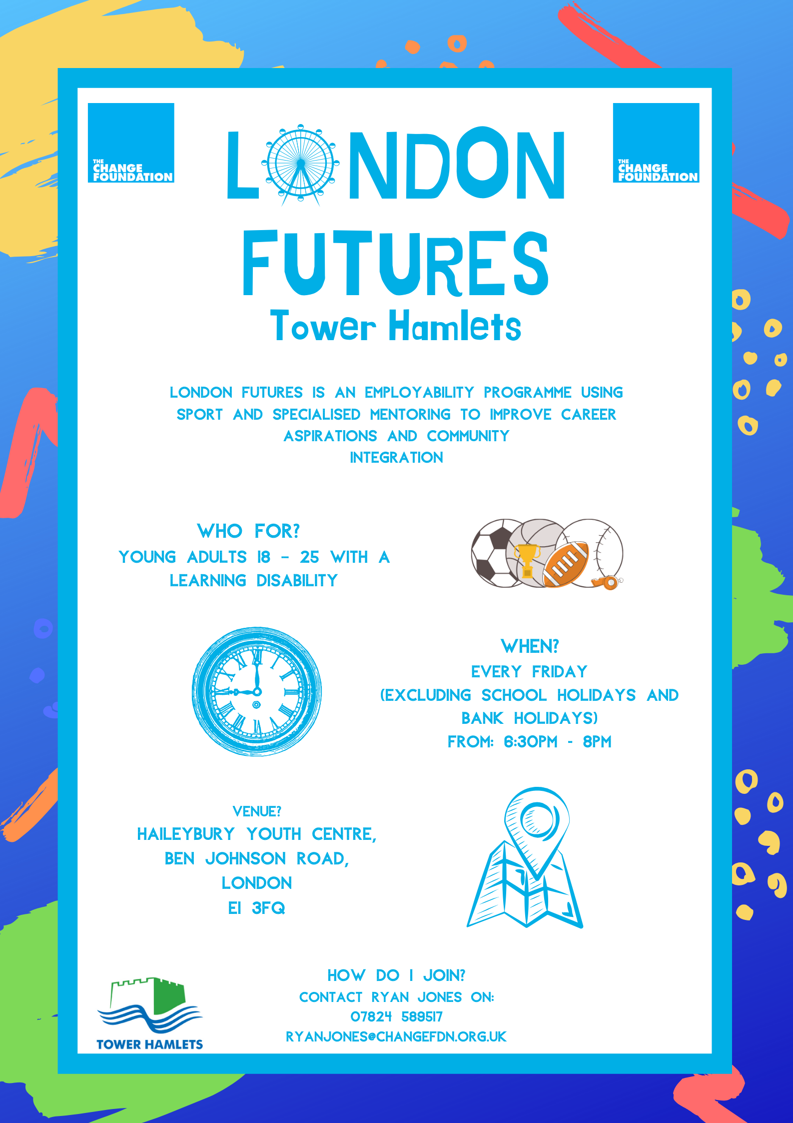 London Futures Tower Hamlets Flyer