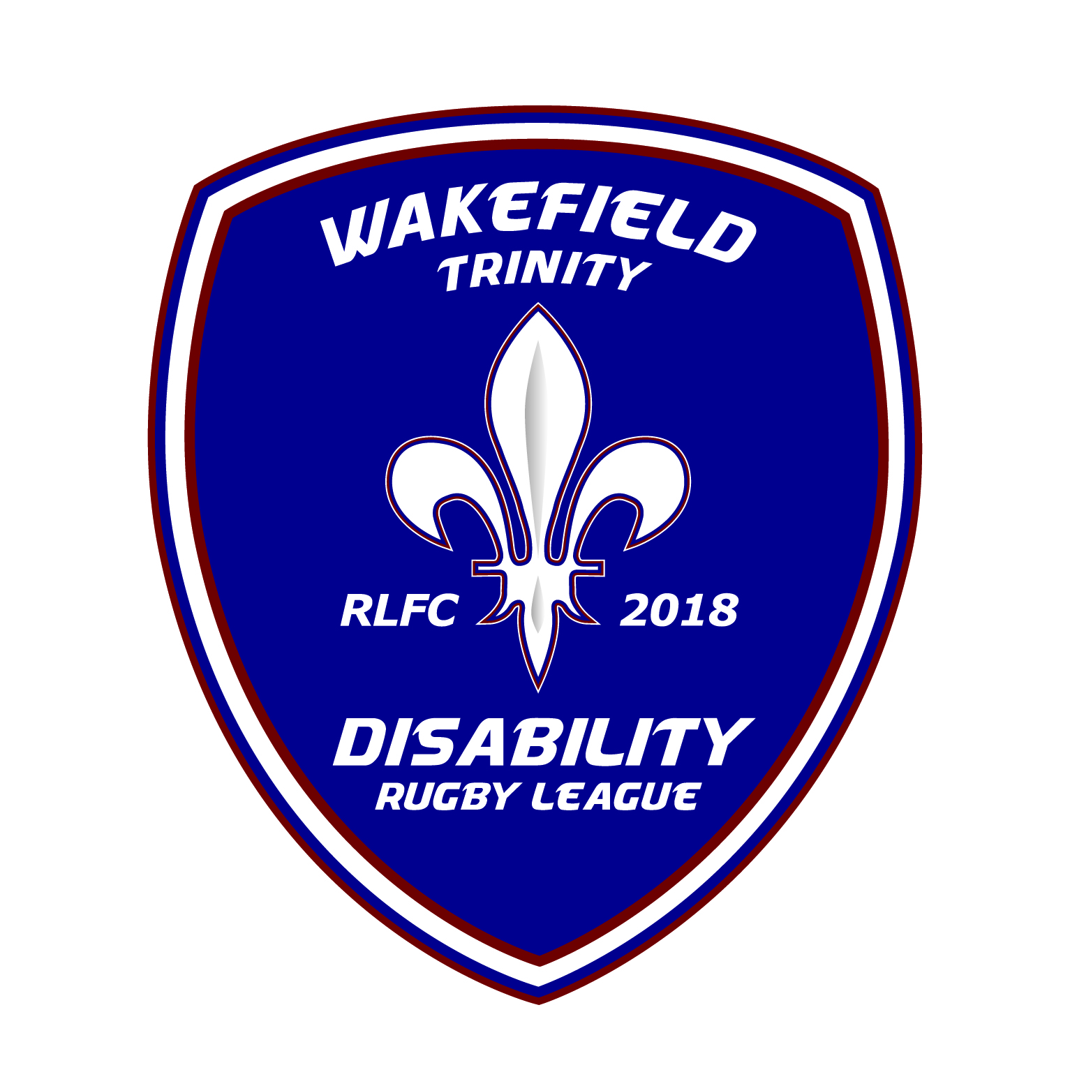 Wakefield Trinity Disability Rugby League badge