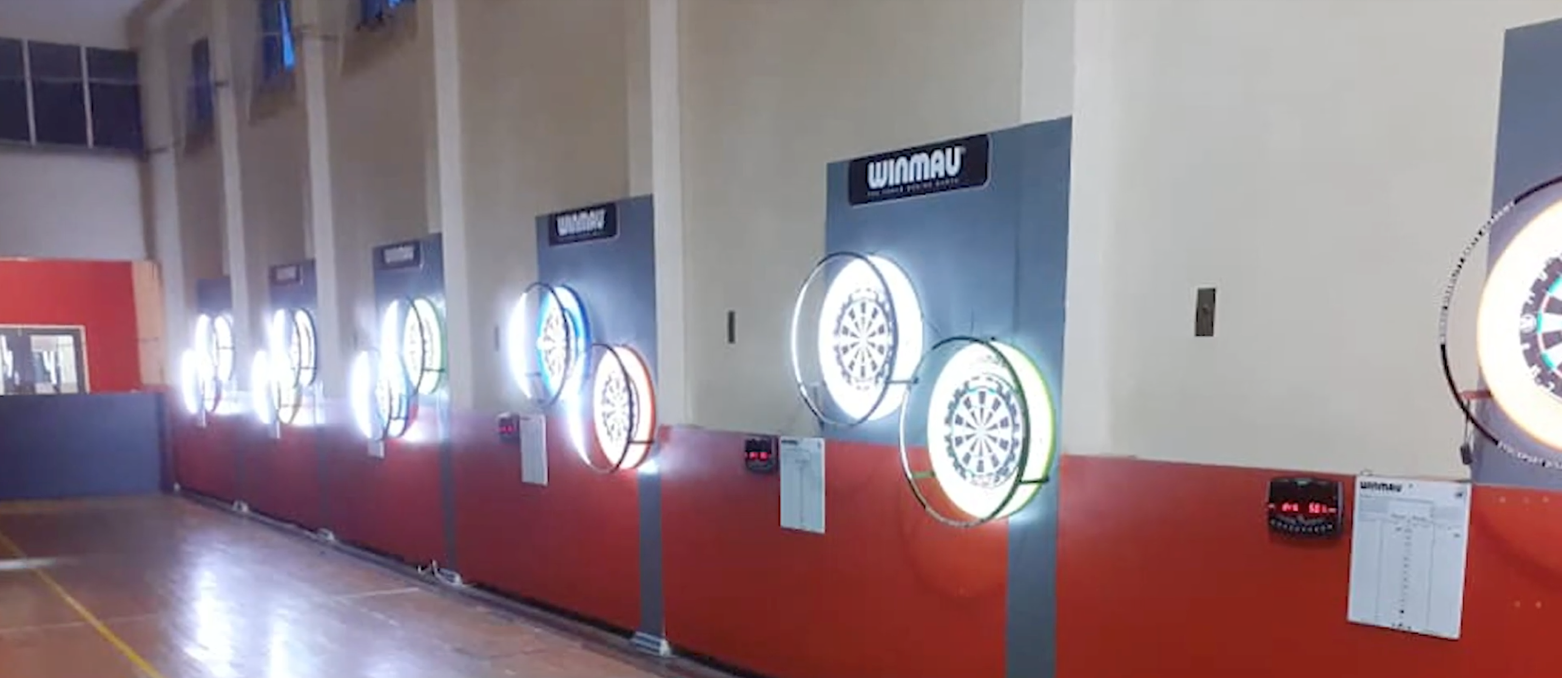 Stockport Disability Darts - dart boards