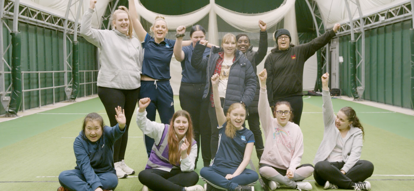 Girls Win as Parasport's February Club of the Month