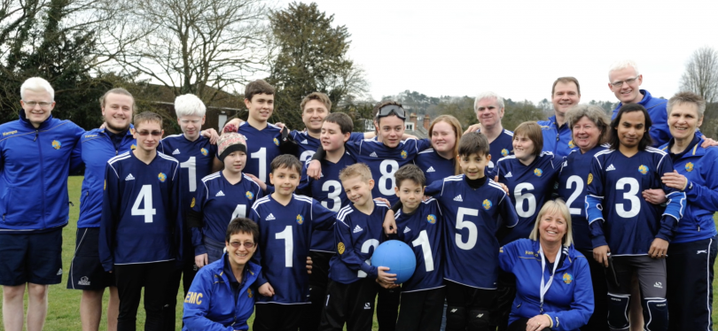 Winchester Goalball Club as Parasport's May Club of the Month