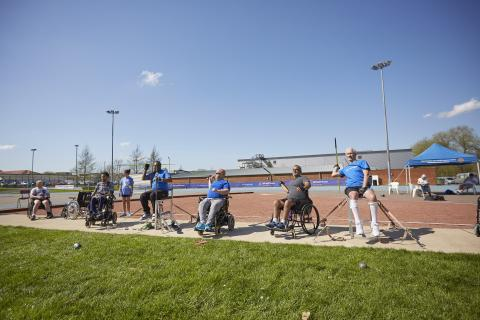 WheelPower Inter Spinal Unit Games