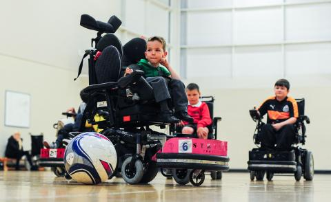 Power chair participants