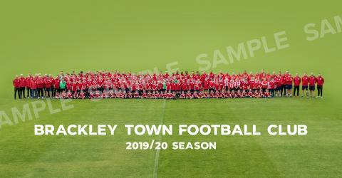 Brackley Town FC Squad photo 2019/20