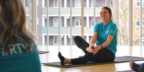 Live Online Fitness for people with a learning disability