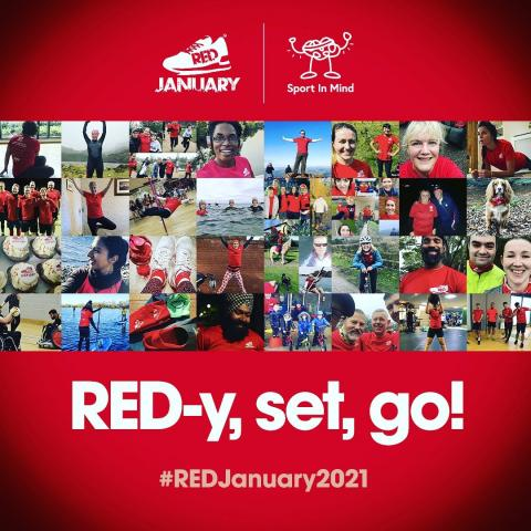 Sport in Mind Red January