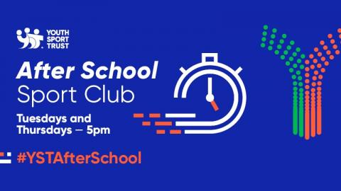 Youth Sport Trust's After School Sports Club flyer