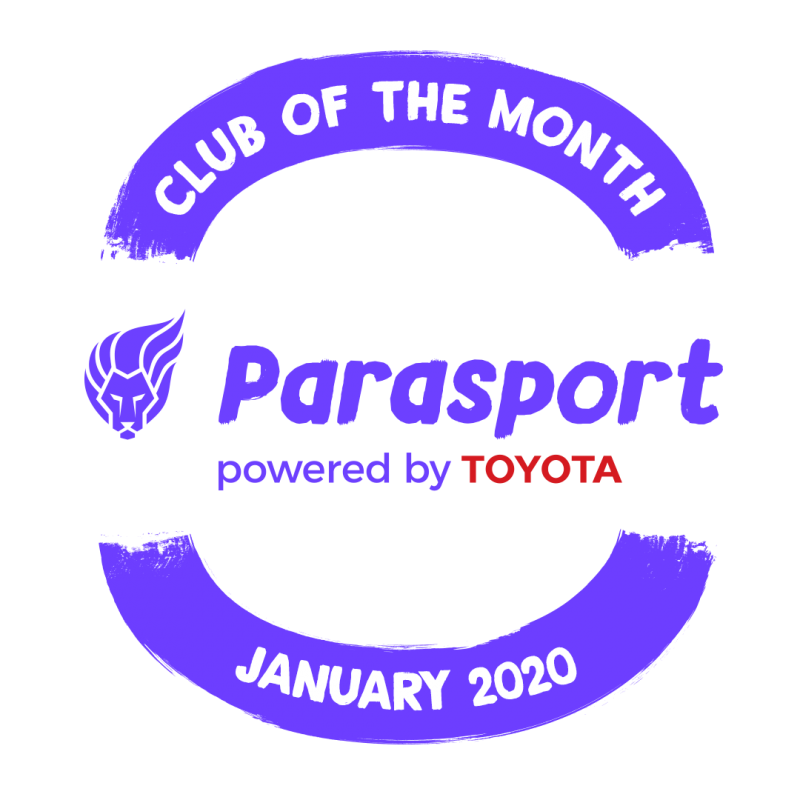 Dance Syndrome has been awarded as Parasport's Club of the Month for January