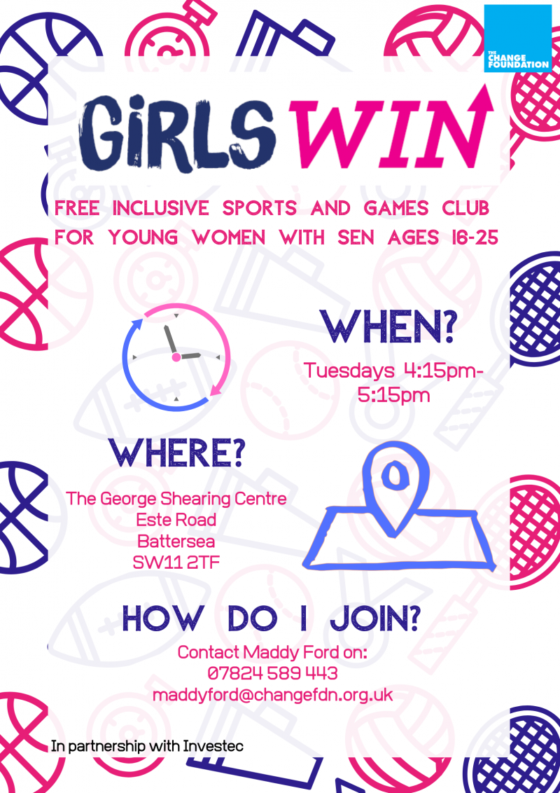 Girls Win Flyer
