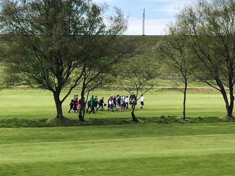 a group of SDGC golf members out of the fairway