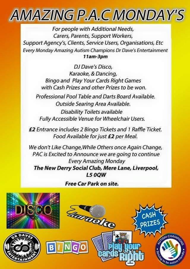 Disability Disco flyer