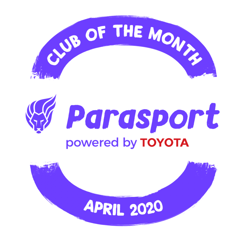 Parasport Club of the Month for April 2020