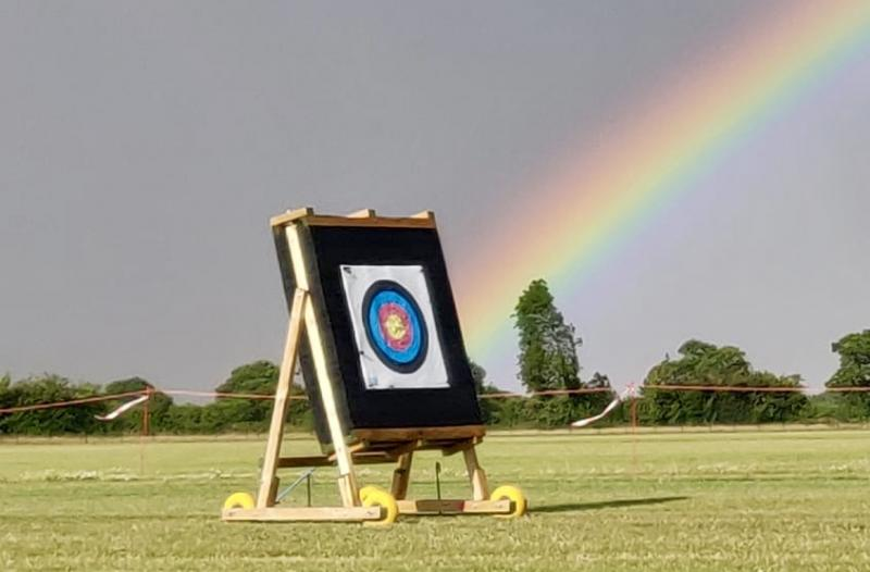 Always a rainbow at the end of the Archery Range.