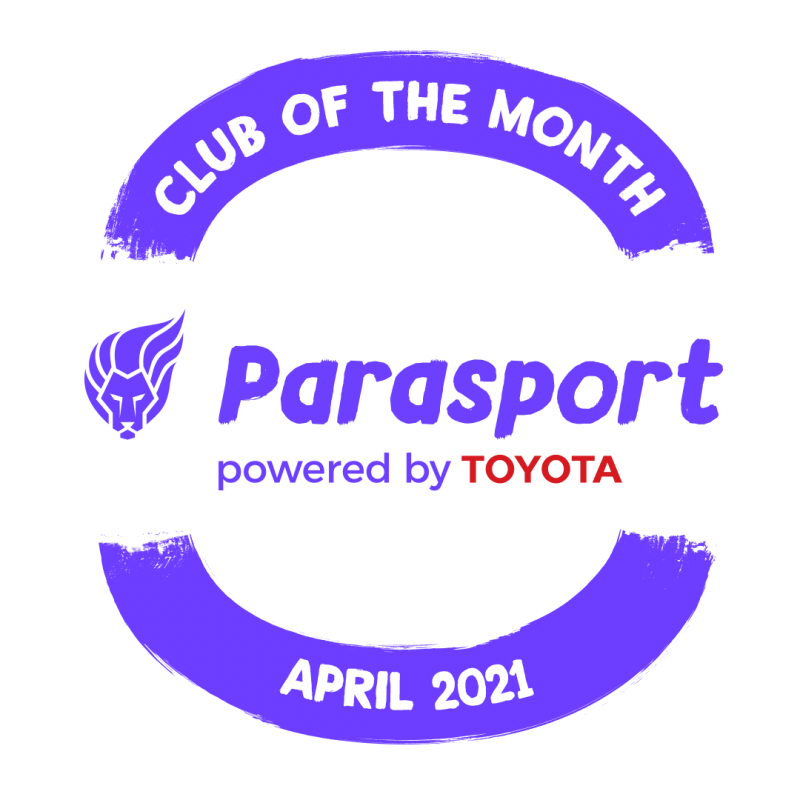 This club was crowned as Parasport's April Club of the Month for April 2021