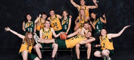 A photo of the University of Nottingham Wheelchair Basketball club.