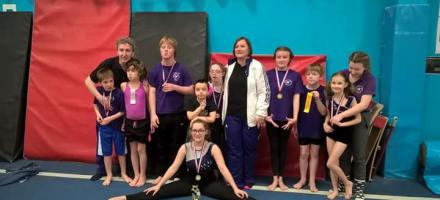 Disability gymnasts who competed for the club