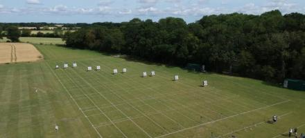 Braintree Bowmen archery club outdoor range