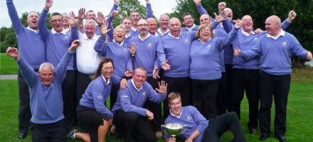 Cup Celebrations at Padeswood